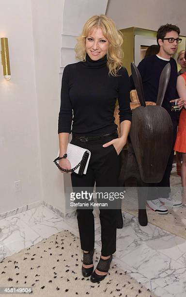 Actress Ari Graynor attends the Irene Neuwirth Flagship Grand Opening on October 30 2014 in West Hollywood California