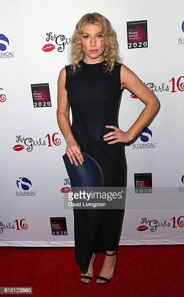 Actress Ari Graynor attends the National Breast Cancer Coalition's 16th Annual Les Girls Cabaret at Avalon Hollywood on October 16 2016 in Los...