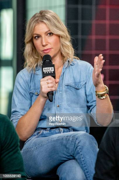 Actress Ari Graynor discusses 'The Front Runner' with the Buld Series at Build Studio on October 30 2018 in New York City