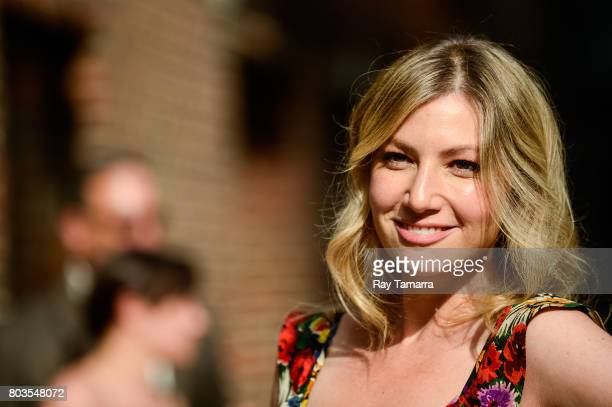 Actress Ari Graynor enters the 'The Late Show With Stephen Colbert' taping at the Ed Sullivan Theater on June 29 2017 in New York City