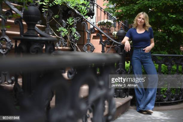 Actress Ari Graynor is photographed for Boston Globe on May 23 2017 in New York City