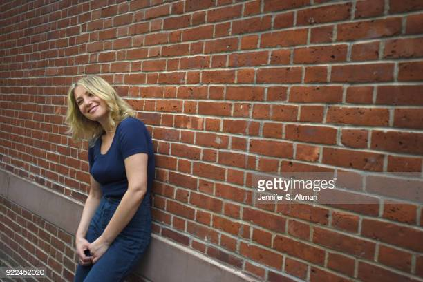 Actress Ari Graynor is photographed for Boston Globe on May 23 2017 in New York City PUBLISHED IMAGE