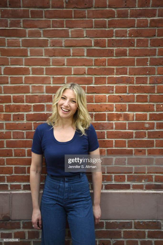 Actress Ari Graynor is photographed for Boston Globe on May 23, 2017 in New York City.