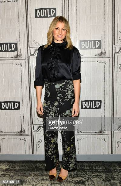 Actress Ari Graynor visits Build Series to discuss her role in the new Showtime series 'I'm Dying Up Here' at Build Studio on June 6 2017 in New York...