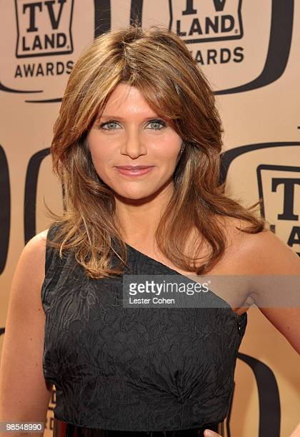 Actress Ari Meyers arrives at the 8th Annual TV Land Awards at Sony Studios on April 17 2010 in Los Angeles California
