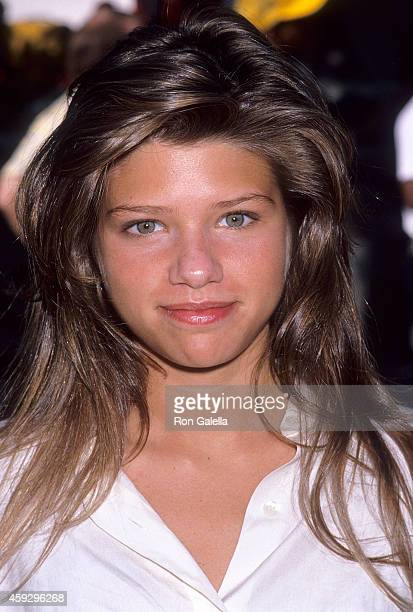 Actress Ari Meyers attends the 20th Annual California Special Olympics Summer Games Opening Night Ceremonies on June 23 1989 at Drake Stadium UCLA in...