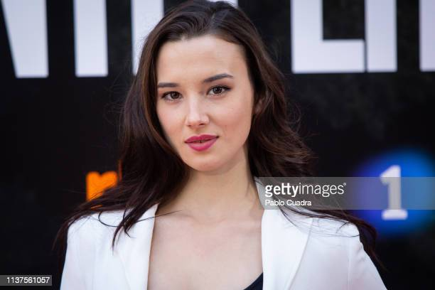 Actress Aria Bedmar attends the 'La Caza Monteperdido' photocall on March 22 2019 in Madrid Spain