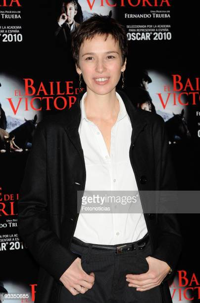 Actress Ariadna Gil attends El Baile de la Victoria photocall at the Palafox Cinema on November 24 2009 in Madrid Spain