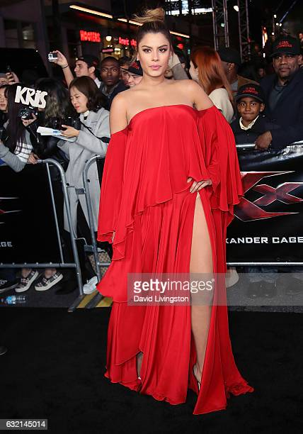 Actress Ariadna Gutierrez attends the premiere of Paramount Pictures' xXx Return of Xander Cage at TCL Chinese Theatre IMAX on January 19 2017 in...