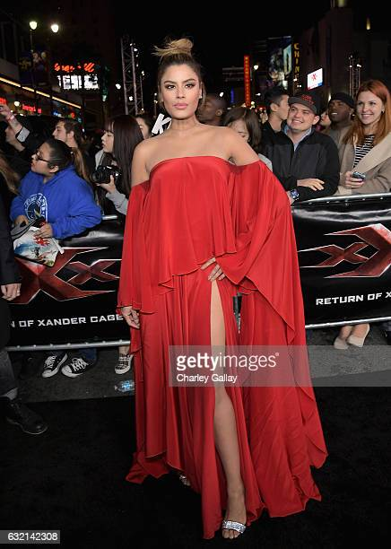 Actress Ariadna Gutierrez attends the LA Premiere of the Paramount Pictures title 'xXx Return of Xander Cage' at TCL Chinese Theatre IMAX on January...