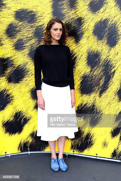 Actress Arian Labed attends the 'Fidelio L'Odyssee d'Alice' Photocall during the 67th Locarno Film Festival on August 9 2014 in Locarno Switzerland