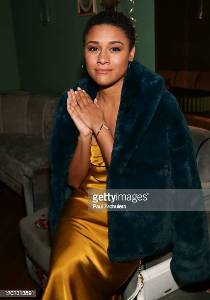 Actress Ariana Debose attends the 1st Annual Musical Theater Album GRAMMY Party at Tramp Stamp Granny's on January 26 2020 in Los Angeles California
