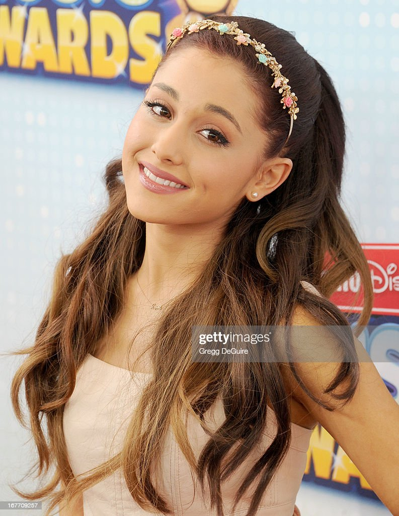 In focus all ears for ariana grande actress ariana grande arrives at the 2013 radio disney music awards at nokia theatre la live voltagebd Images