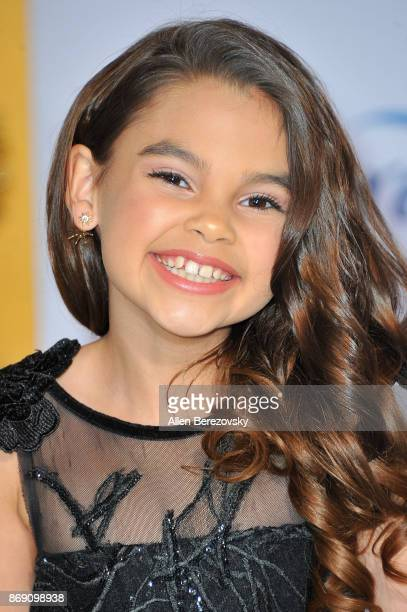 Actress Ariana Greenblatt attends the premiere of STX Entertainment's 'A Bad Moms Christmas' at Regency Village Theatre on October 30 2017 in...