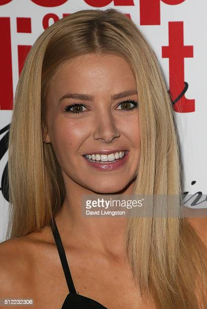 Actress Ariana Madix arrives at the 40th Anniversary of the Soap Opera Digest at The Argyle on February 24 2016 in Hollywood California