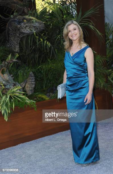 Actress Ariana Richards arrives for the Premiere Of Universal Pictures And Amblin Entertainment's 'Jurassic World Fallen Kingdom' held at Walt Disney...