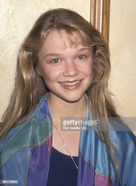 Actress Ariana Richards attends the 15th Annual Youth in Film Awards on February 5 1994 at Sportmen's Lodge in Studio City California