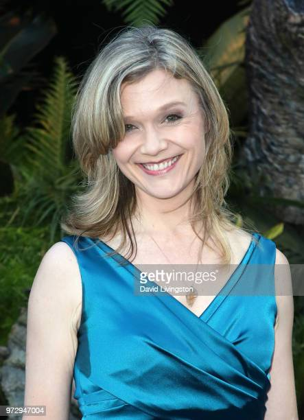 Actress Ariana Richards attends the premiere of Universal Pictures and Amblin Entertainment's 'Jurassic World Fallen Kingdom' at Walt Disney Concert...