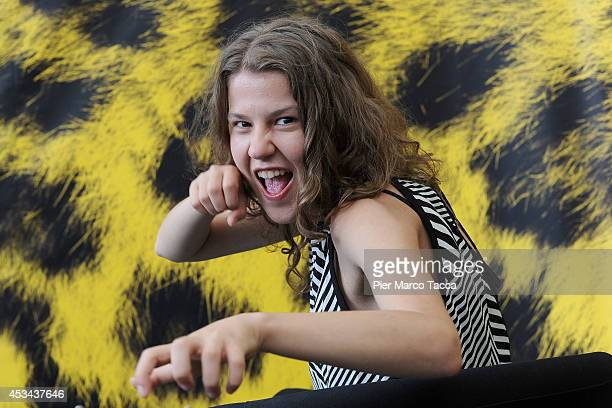 Actress Ariana Rivoire attends the 'Marie Heurtin' Photocall during the 67th Locarno Film Festival on August 10 2014 in Locarno Switzerland