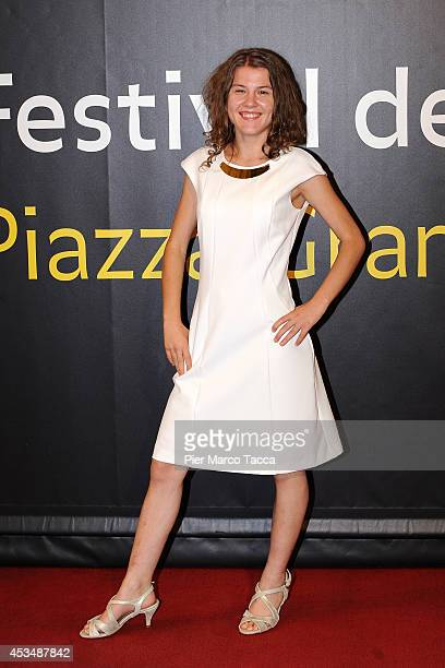Actress Ariana Rivoire attends the 'Marie Heurtin' photocall premiere during the 67th Locarno Film Festival on August 10 2014 in Locarno Switzerland