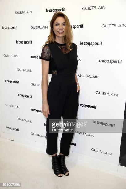 Actress Ariane Brodier attends 'Le Coq Sportif x Guerlain' at Le Coq Sportif Flagship on May 31 2017 in Paris France