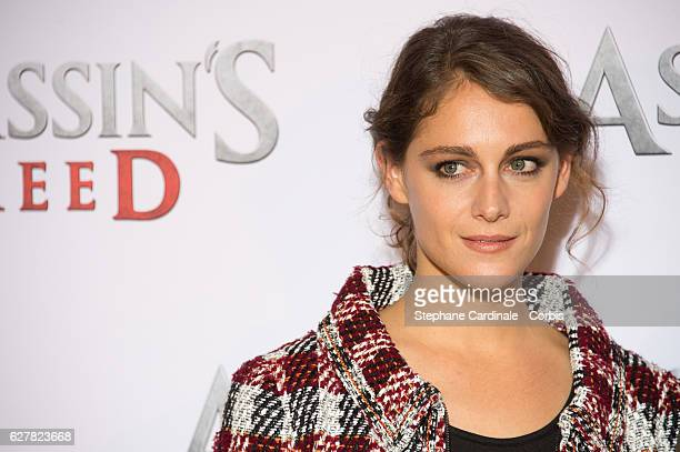 Actress Ariane Labed attends the 'Assassin's Creed' Paris Photocall at Hotel Bristol on December 5 2016 in Paris France