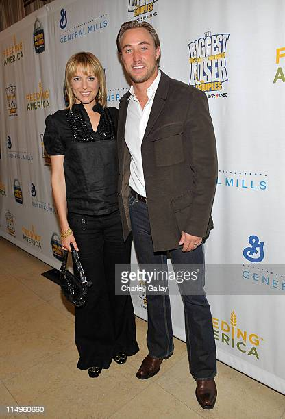 Actress Arianne Zucker and actor Kyle Lowder attend the Pound For Pound Challenge for Feeding America an initiative that encourages Americans to lose...