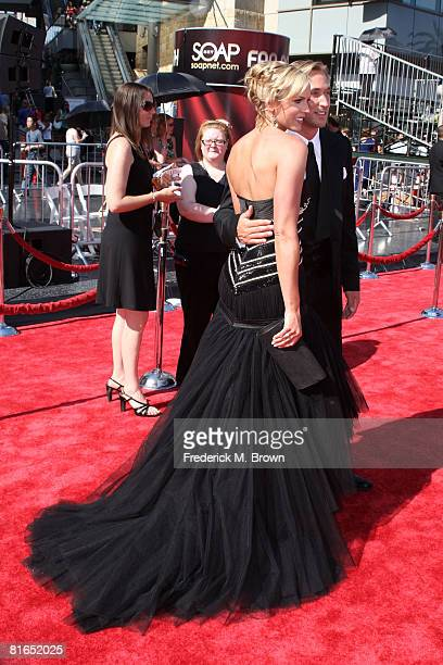 Actress Arianne Zucker arrives at the 35th Annual Daytime Emmy Awards held at the Kodak Theatre on June 20 2008 in Hollywood California