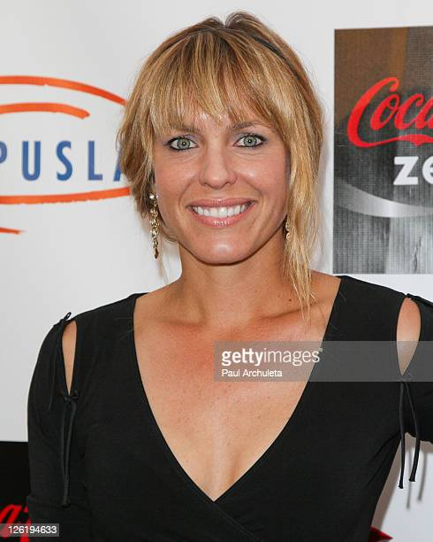 Actress Arianne Zucker arrives at the 3rd annual 'Get Lucky For Lupus LA' charity event at the Peterson Automotive Museum on September 22 2011 in Los...