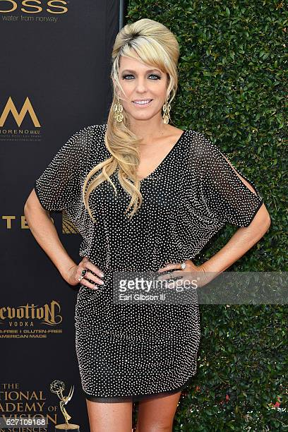 Actress Arianne Zucker arrives at the 43rd Annual Daytime Emmy Awards at the Westin Bonaventure Hotel on May 1 2016 in Los Angeles California