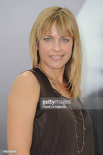 Actress Arianne Zucker attends a photocall for the TV Series 'Days Of Our Lives' during the 52nd Monte Carlo TV Festival on June 12 2012 in...
