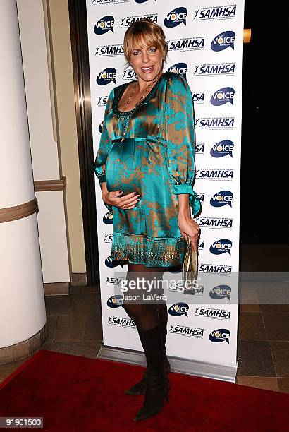 Actress Arianne Zucker attends the 2009 Voice Awards at Paramount Theater on the Paramount Studios lot on October 14 2009 in Los Angeles California