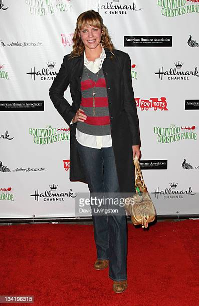 Actress Arianne Zucker attends the 80th anniversary Hollywood Christmas Parade benefiting Marine Toys for Tots on November 27 2011 in Hollywood...