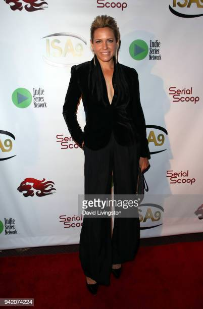Actress Arianne Zucker attends the 9th Annual Indie Series Awards at The Colony Theatre on April 4, 2018 in Burbank, California.
