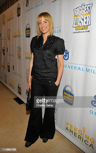 Actress Arianne Zucker attends the Pound For Pound Challenge for Feeding America an initiative that encourages Americans to lose weight and feed the...