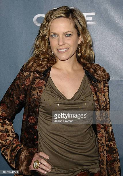 Actress Arianne Zucker attends the premiere party for NBC's 'The Cape' at The Henry Fonda Theater on January 4 2011 in Hollywood California