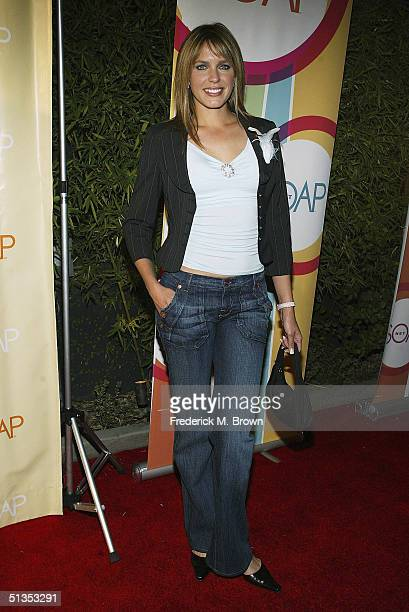 Actress Arianne Zuker attends the Soapnet Fall Launch Party at the Falcon Restaurant on September 23 2004 in Hollywood California