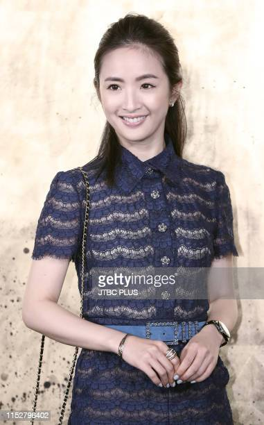 Actress Ariel Lin attends CHANEL ParisNew York 2018'19 Metiers d'Art show on May 28 2019 in Seoul South Korea