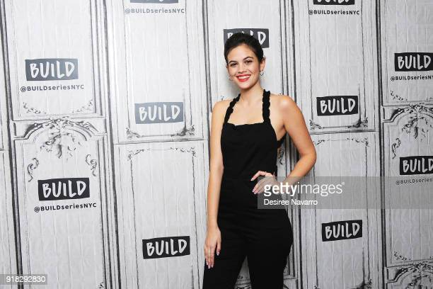 Actress Ariel Mortman attends Build Series to discuss 'Greenhouse Academy' at Build Studio on February 14 2018 in New York City