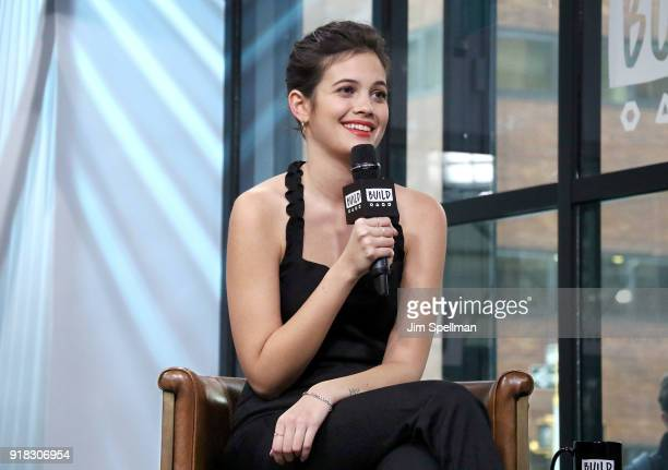 Actress Ariel Mortman attends the Build Series to discuss 'Greenhouse Academy' at Build Studio on February 14 2018 in New York City