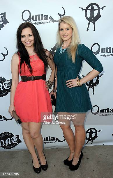 Actress Ariel Teal Toombs and actress Christina Blevins attend the Premiere Party For 'Storage Wars' Season 4 held at Now and Then Thrift Store on...