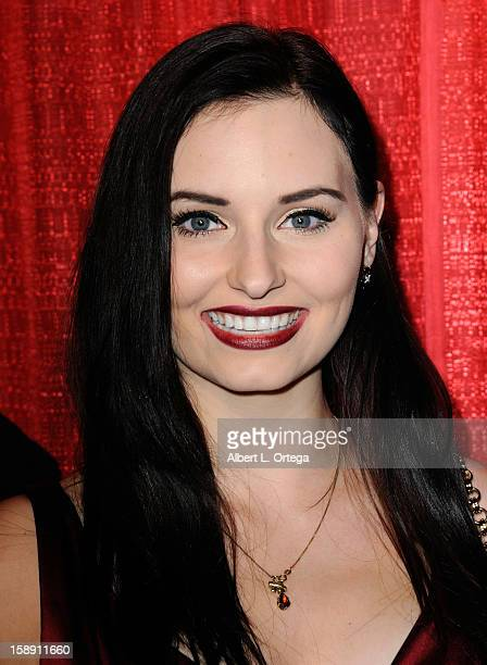 Actress Ariel Teal Toombs arrives for Blood Magazine Launch Party held at Infusion Lounge on October 23 2012 in Universal City California