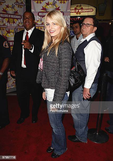 Actress Ariel Teal Toombs attends the launching of Niecy Nash's milkshake at Millions Of Milkshakes on March 23 2010 in West Hollywood California
