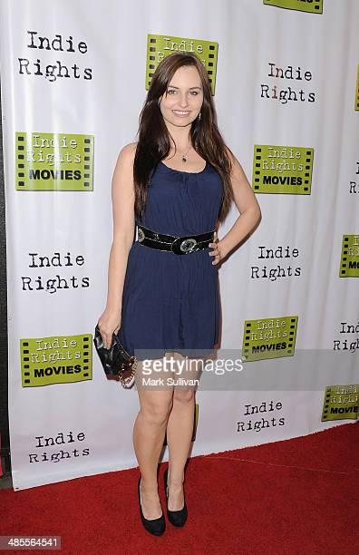 Actress Ariel Teal Toombs attends the premiere of 'The Fray' at Arena Cinema Hollywood on April 18 2014 in Hollywood California