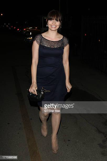 Actress Ariel Teal Toombs is seen on August 19 2013 in Los Angeles California