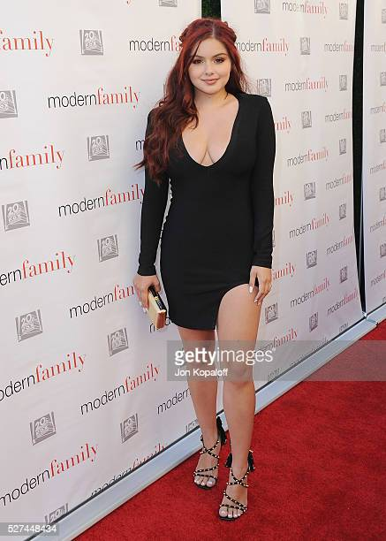 Actress Ariel Winter arrives at ABC's 'Modern Family' ATAS Emmy Event at Fox Studios on May 2 2016 in Los Angeles California