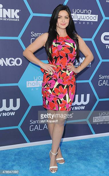 Actress Ariel Winter arrives at the 16th Annual Young Hollywood Awards at The Wiltern on July 27 2014 in Los Angeles California