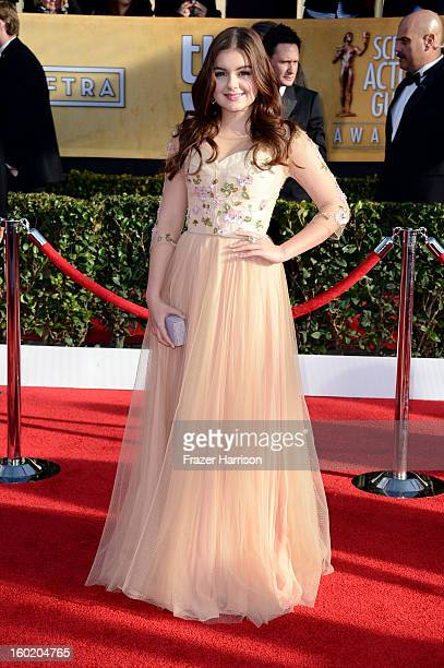 Actress Ariel Winter arrives at the 19th Annual Screen Actors Guild Awards held at The Shrine Auditorium on January 27 2013 in Los Angeles California