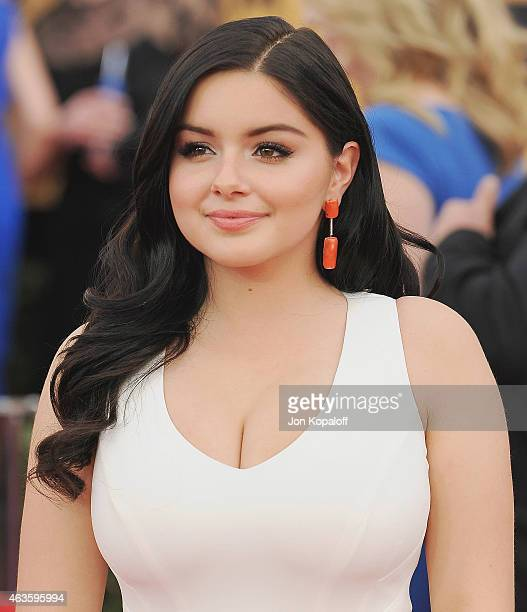Actress Ariel Winter arrives at the 21st Annual Screen Actors Guild Awards at The Shrine Auditorium on January 25 2015 in Los Angeles California