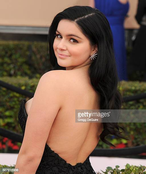 Actress Ariel Winter arrives at the 22nd Annual Screen Actors Guild Awards at The Shrine Auditorium on January 30 2016 in Los Angeles California